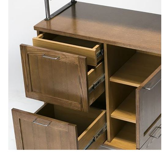 journal standard Furnitureの『BRISTOL KITCHEN BOARD LB』の収納スペース
