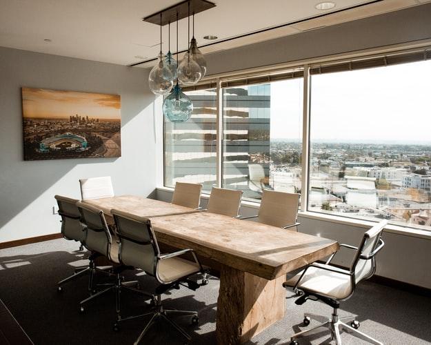 スタイリッシュなオフィスの画像