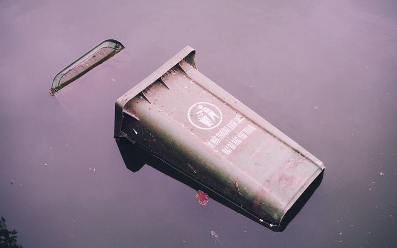 CLASでゴミ箱を処分
