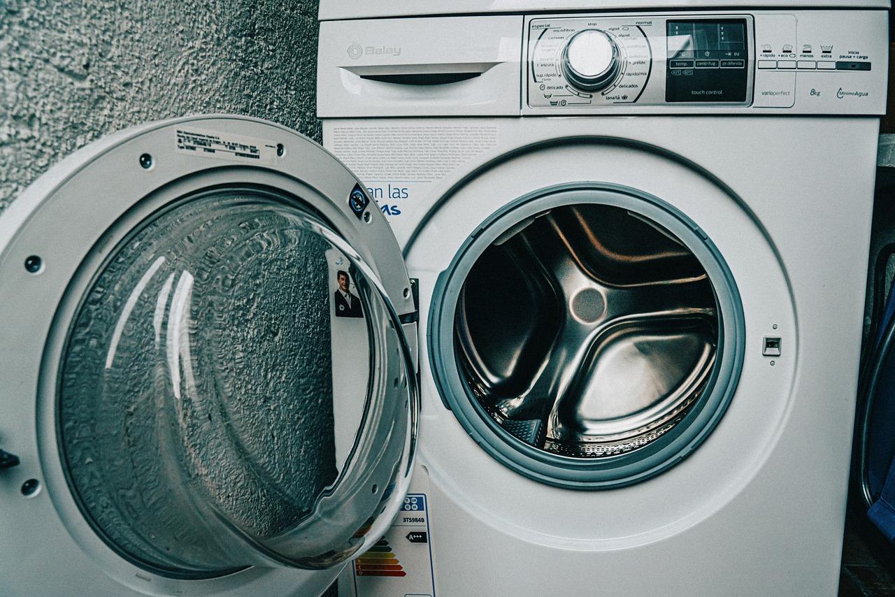 高性能な洗濯機の画像